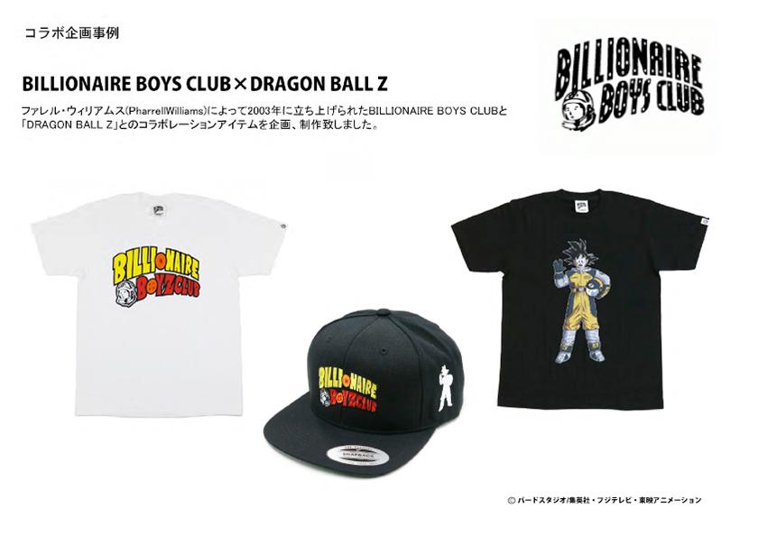 BILLIONAIRE BOYS CLUB×DRAGON BALL Z