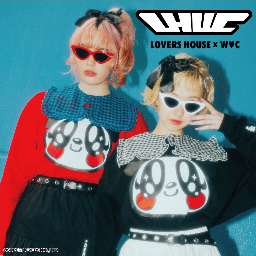 LOVERS HOUSE×WC