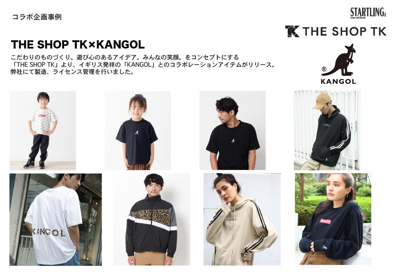 THE SHOP TK×KANGOL